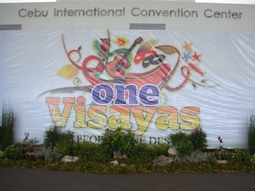 the One Visayas tarp