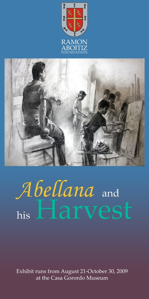 Abellana and his Harvest exhibit