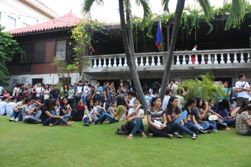 USC students in Casa Gorordo